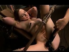Molly O'Dell - Wrist and ankle bondage